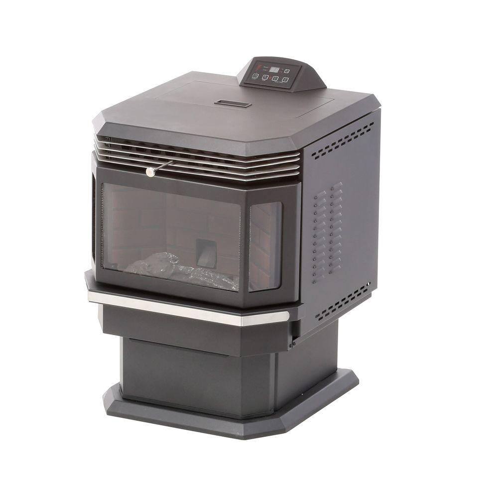 Us Stove 2 200 Sq Ft Bay Front Pellet Stove 5660 The