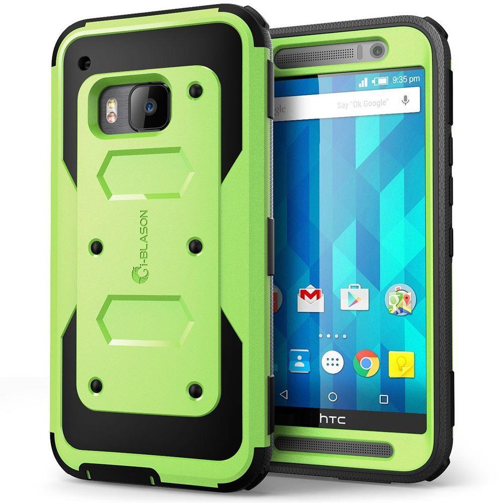 i-Blason Armorbox Full-Body Case for HTC One M9, Green by i-Blason