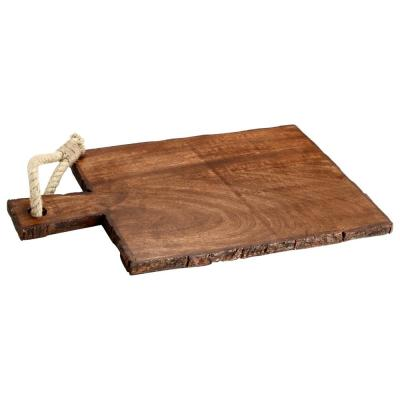 Rectangle Wooden Cutting Board with Tied Rope