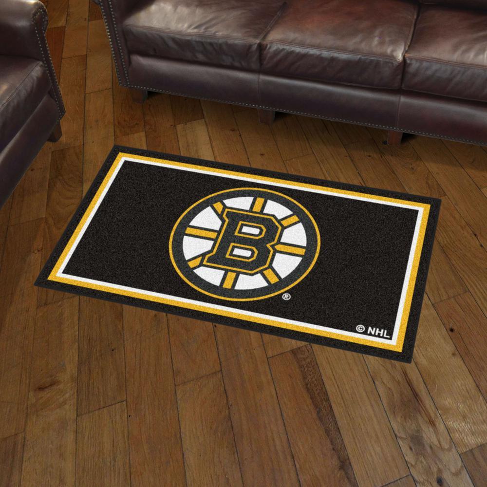 Fanmats Nhl Boston Bruins 3 Ft X 5