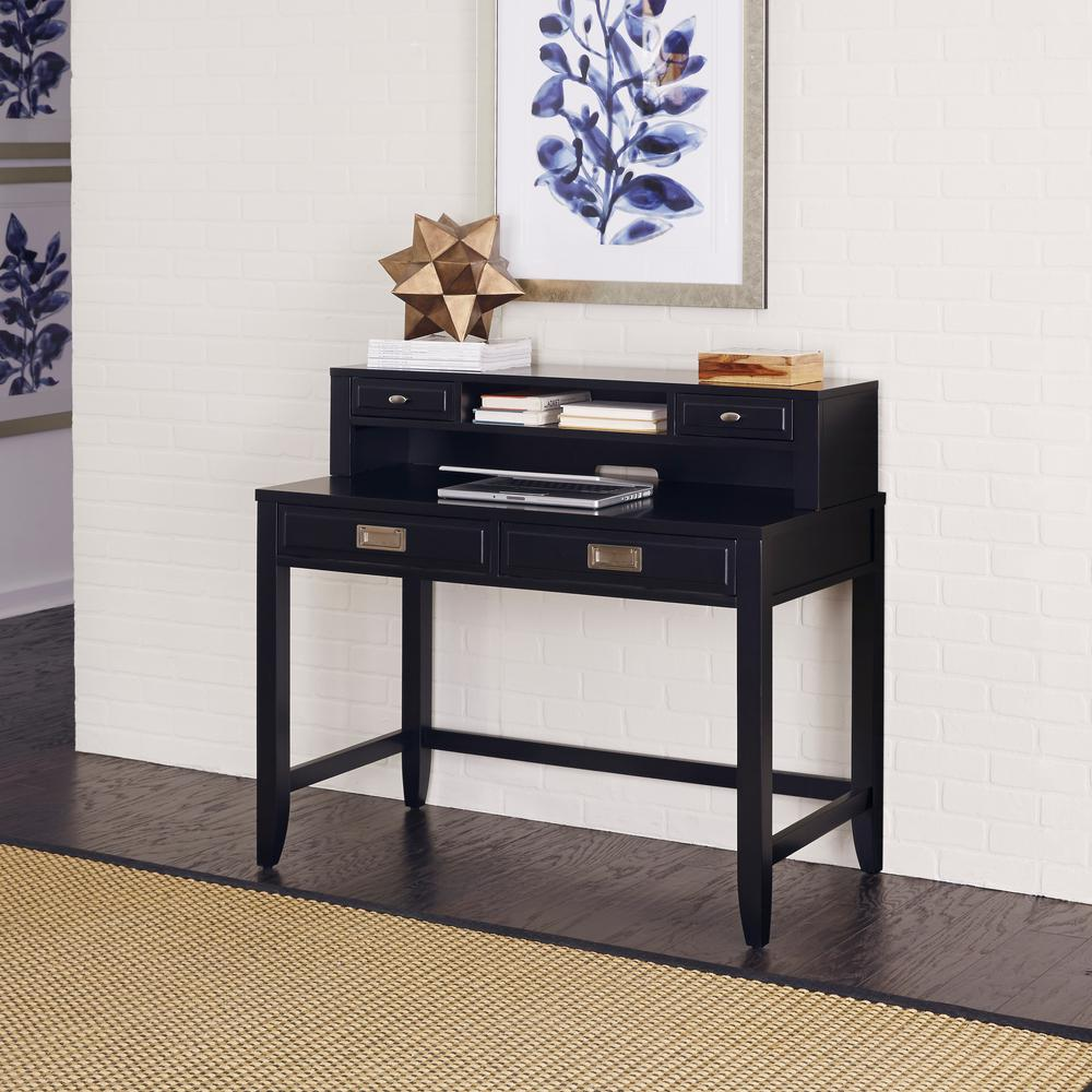 Home Styles Prescott Black Desk