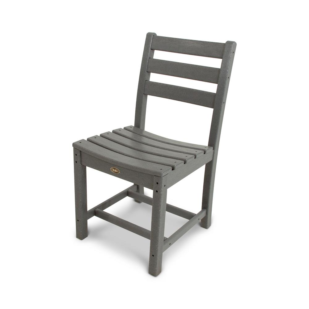 Trex Outdoor Furniture Monterey Bay Stepping Stone Patio Dining Side Chair