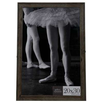 20 in. x 30 in. Graywash Poster Picture Frame