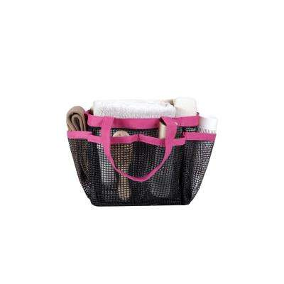 All Purpose Mesh Tote Bag in Pink