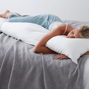 TCS Down Firm 20 in. x 72 in. Body Pillow