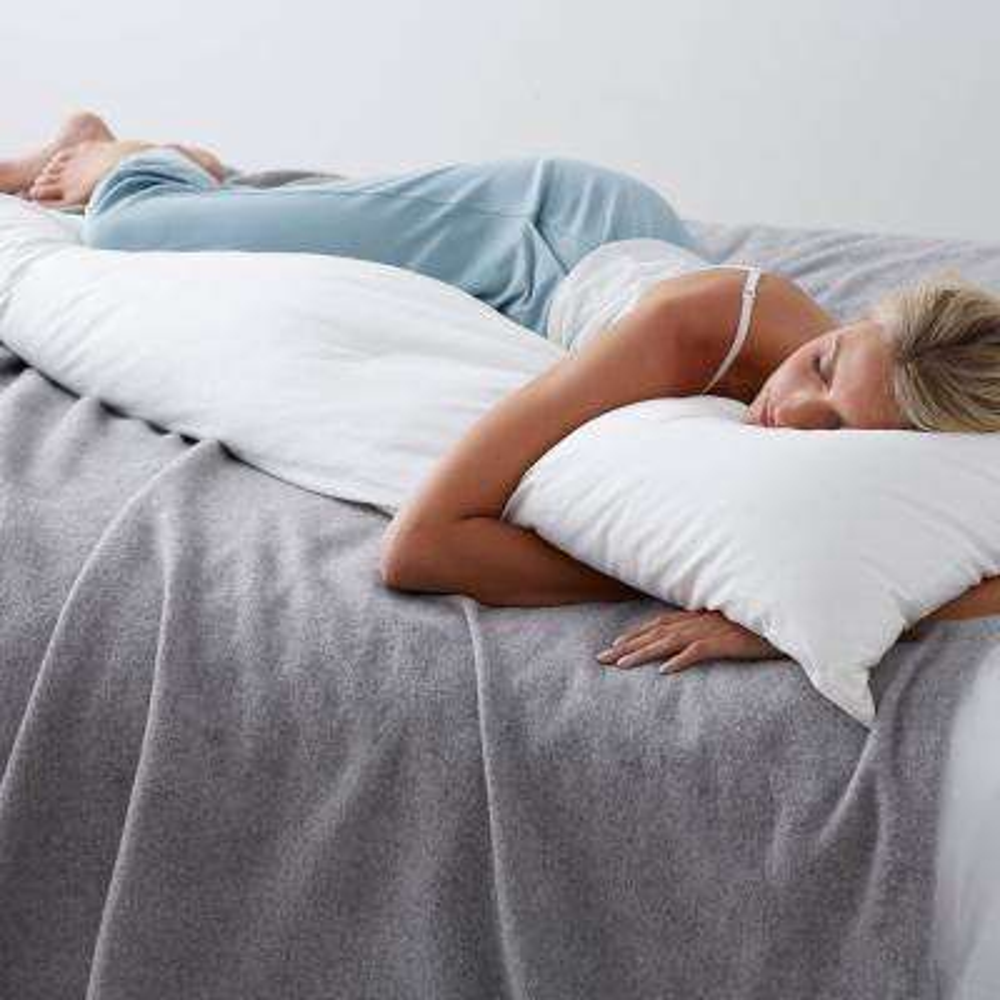 Company Cotton White Down Medium Body Decorative Pillow Insert, 20 in. x 72 in.