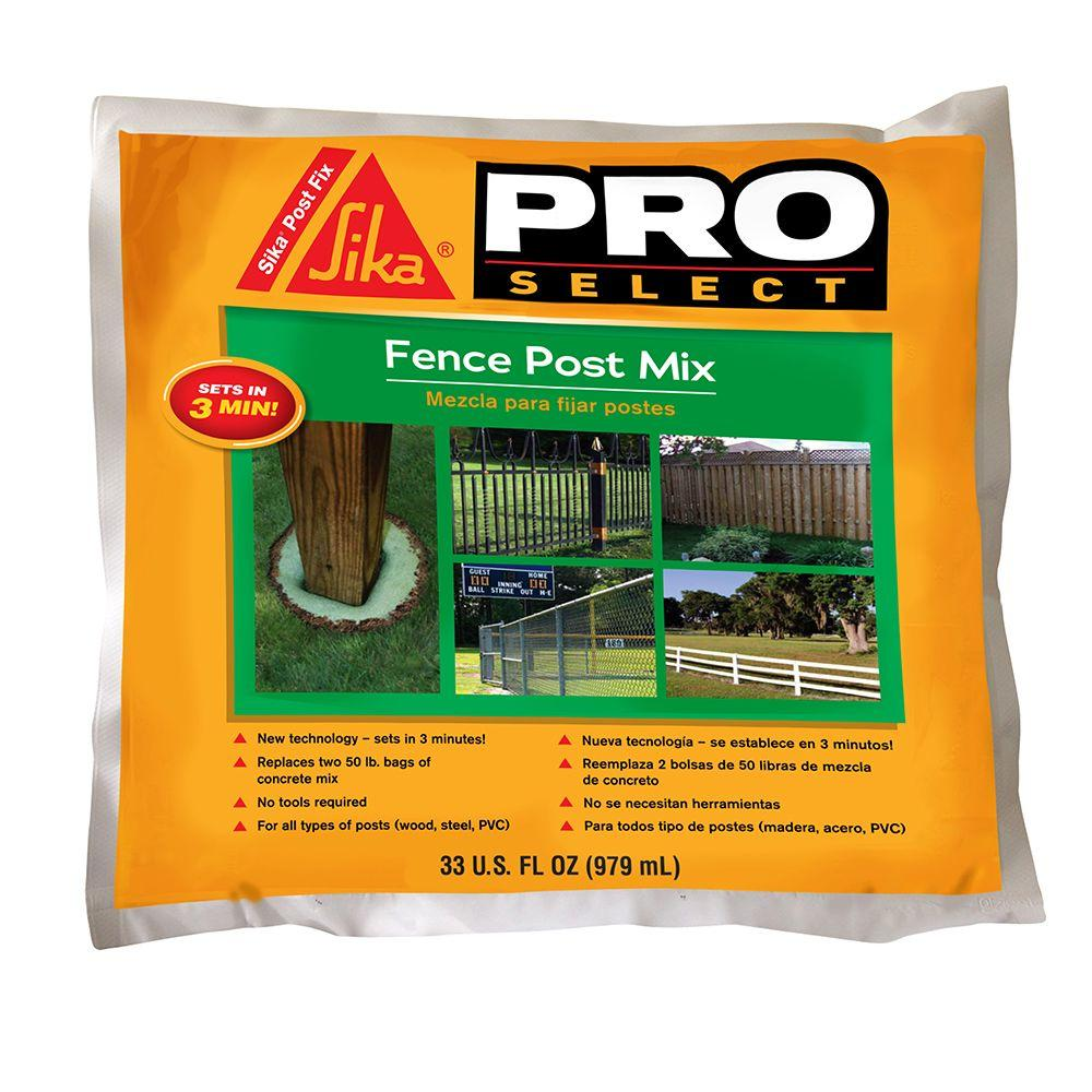Sika 33 fl. oz. Fence Post Mix-483503 - The Home Depot