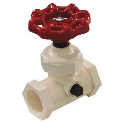 1/2 in. CPVC CTS Compression Supply Stop Waste Valve