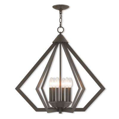 Prism 6-Lights Bronze Chandelier