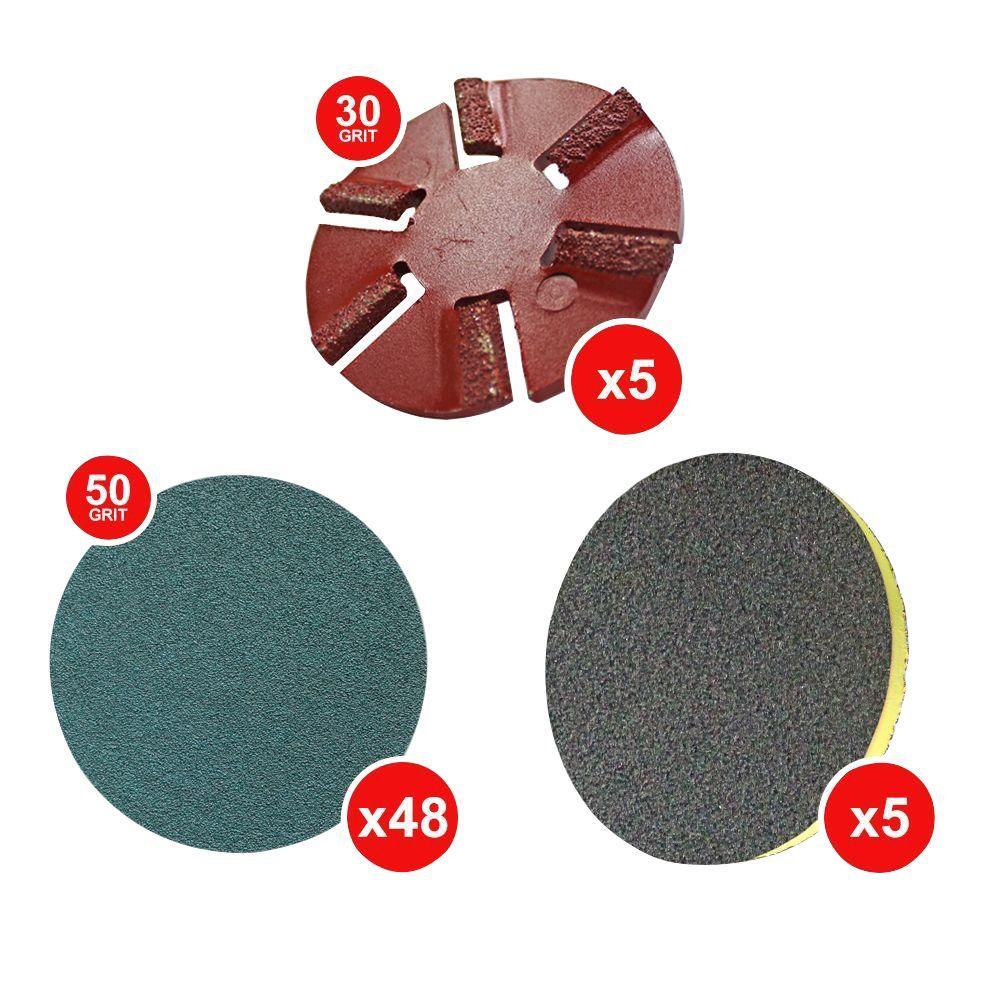 WerkMaster Scarab Wood Deck Sanding Package