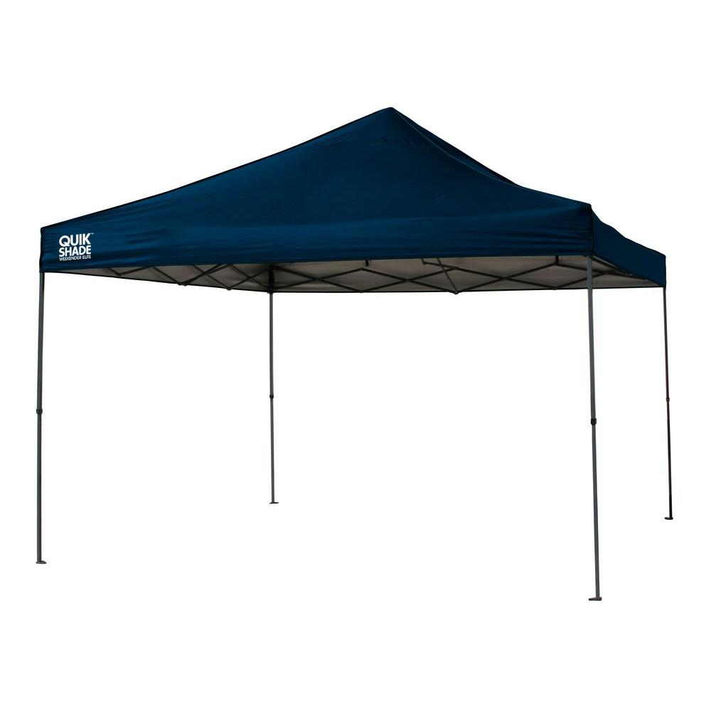 Navy Blue Instant Canopy  sc 1 st  The Home Depot & Quik Shade WE144 Weekender Elite 12 ft. x 12 ft. Navy Blue Instant ...