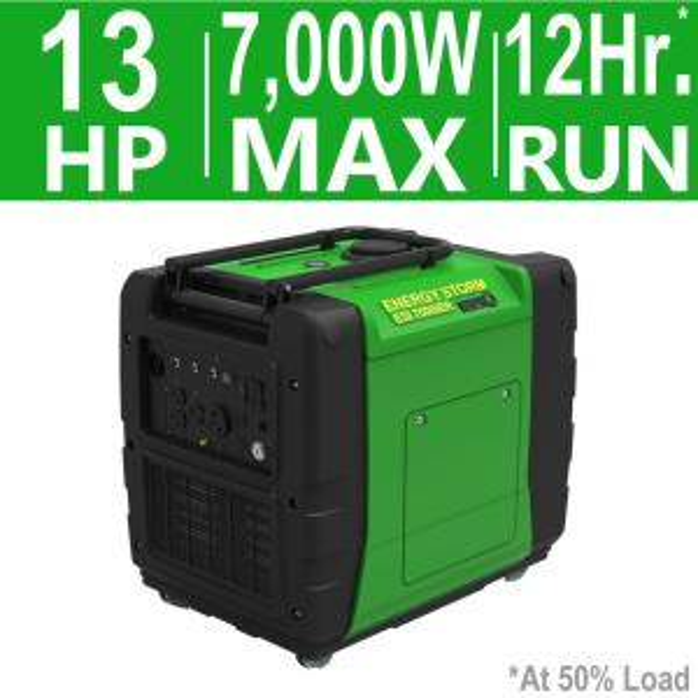 LIFAN Energy Storm 7000-Watt 389cc Gasoline Powered Electric/Remote Start Digital Inverter Generator,... by LIFAN