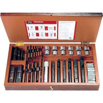 1/4 in. to 1 in. Model 25 Screw and Pipe Extractor Set