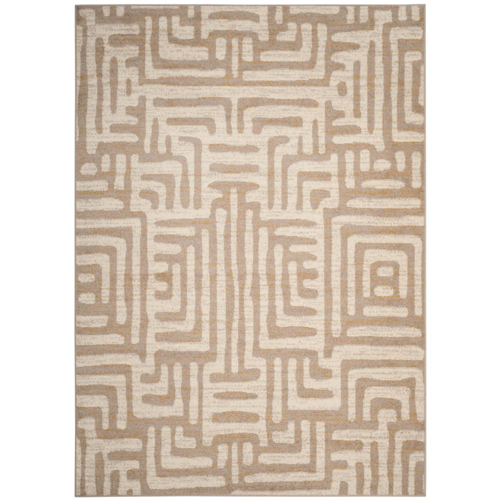 Well known Safavieh Amsterdam Ivory/Mauve 8 ft. x 10 ft. Area Rug-AMS106A-8  WF79