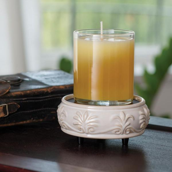 Sandstone 2-In-1 Candle and Fragrance Warmer For Candles And Wax Melts from Candle Warmers Etc.