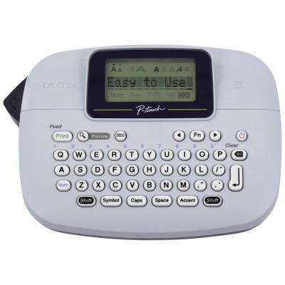 P-Touch Monochrome Label Maker, White