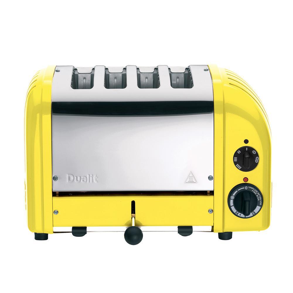 NewGen 4-slice Citrus Yellow Toaster