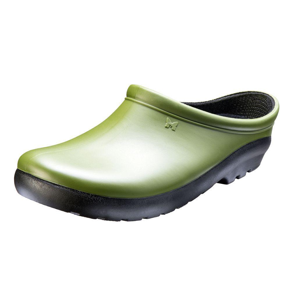Green Cactus Garden Shoe Clog