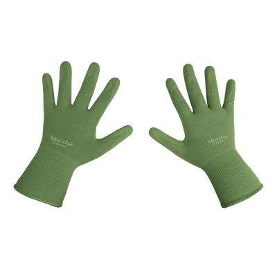 Small Nitrile Coated Palm Breathable All Purpose Non-Slip Garden Gloves