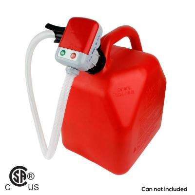 4 AA Battery Powered Fuel Transfer Pump with Auto-Stop