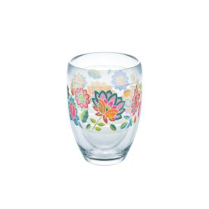 Tervis Boho Chic 9 oz. Double-Walled Tritan Stemless Wine Glass by Tervis