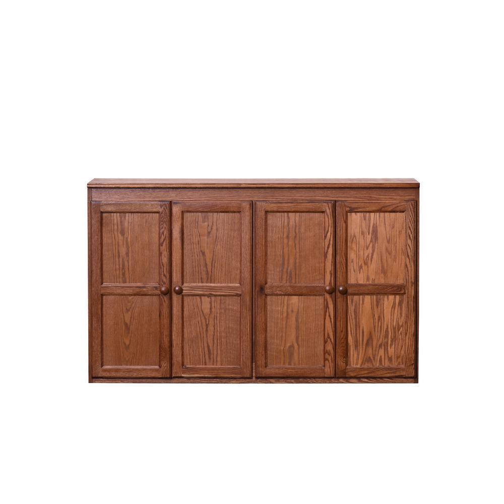 Multi Storage Dry Oak Storage Cabinet