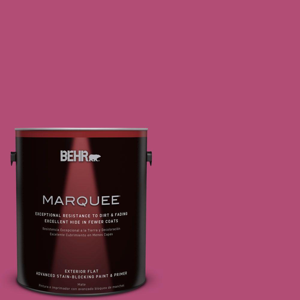 BEHR MARQUEE 1-gal. #P120-6 Diva Glam Flat Exterior Paint