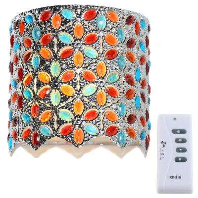 Multi-Colored Integrated LED Sconce