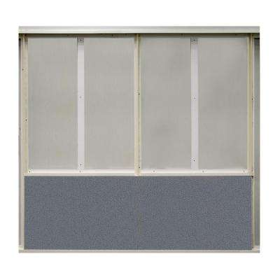 20 sq. ft. Wolf Fabric Covered Bottom Kit Wall Panel