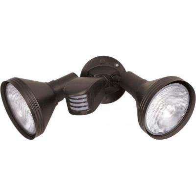 Tony 2-Light Bronze Flood Light