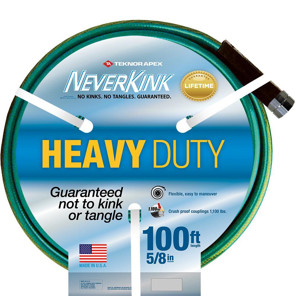 5/8 in. Dia x 100 ft. Heavy Duty Water Hose