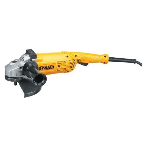 15 Amp 5.3 HP 7 in. and 9 in. (180 mm and 230 mm) Angle Grinder