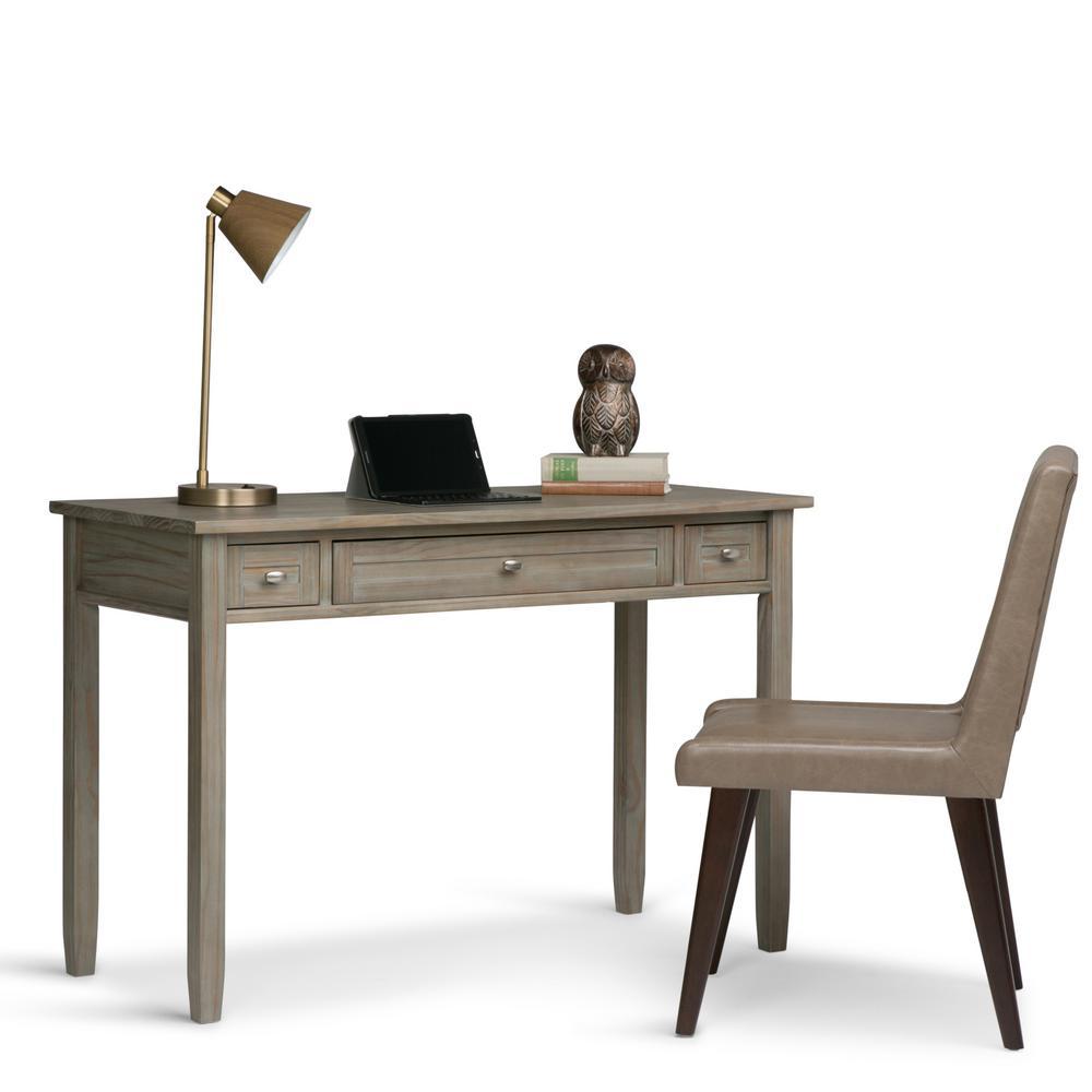 Distressed Grey Desk