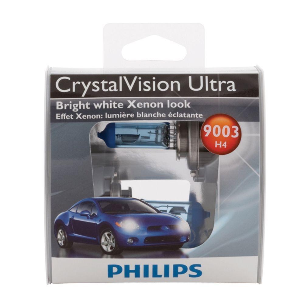 Philips CrystalVision Ultra 9003 Headlight Bulb (2-Pack)
