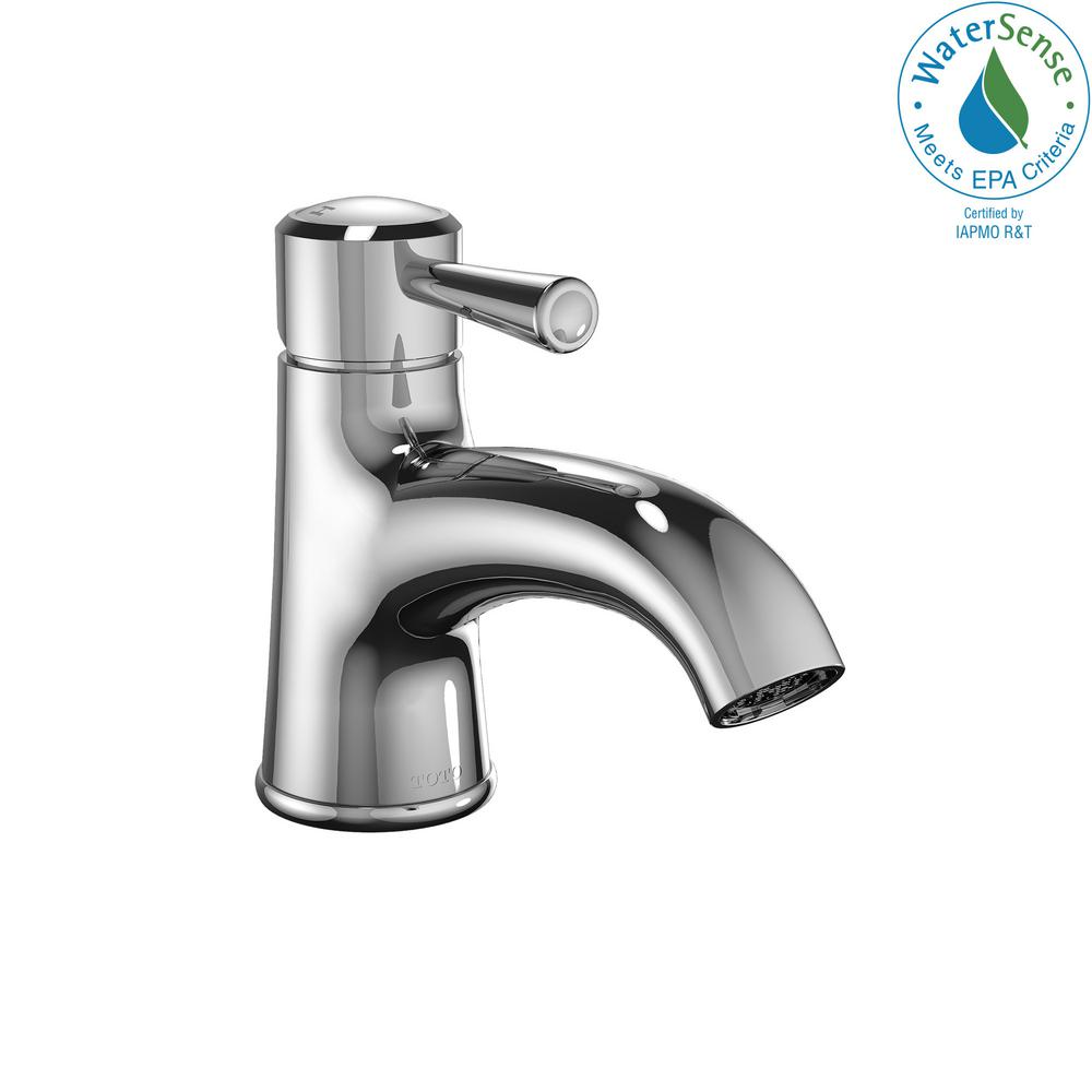 TOTO Silas Single Hole Single-Handle Bathroom Faucet in Polished ...