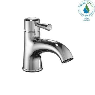 Silas Single Hole Single-Handle Bathroom Faucet in Polished Chrome
