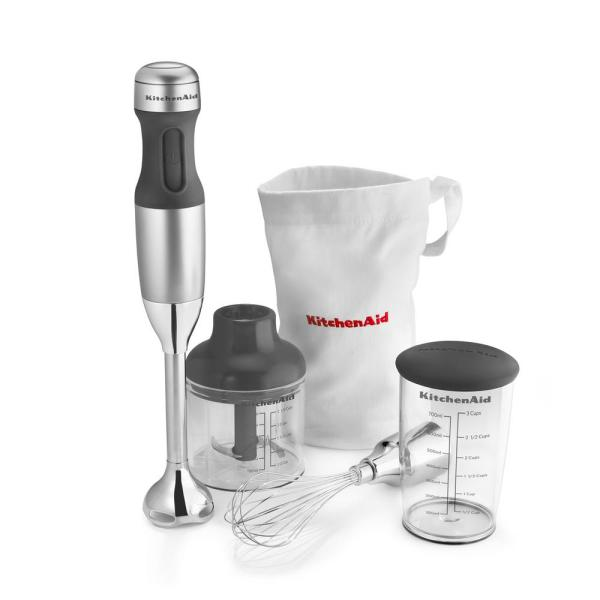 Astonishing Kitchenaid 3 Speed Contour Silver Immersion Blender With Download Free Architecture Designs Viewormadebymaigaardcom