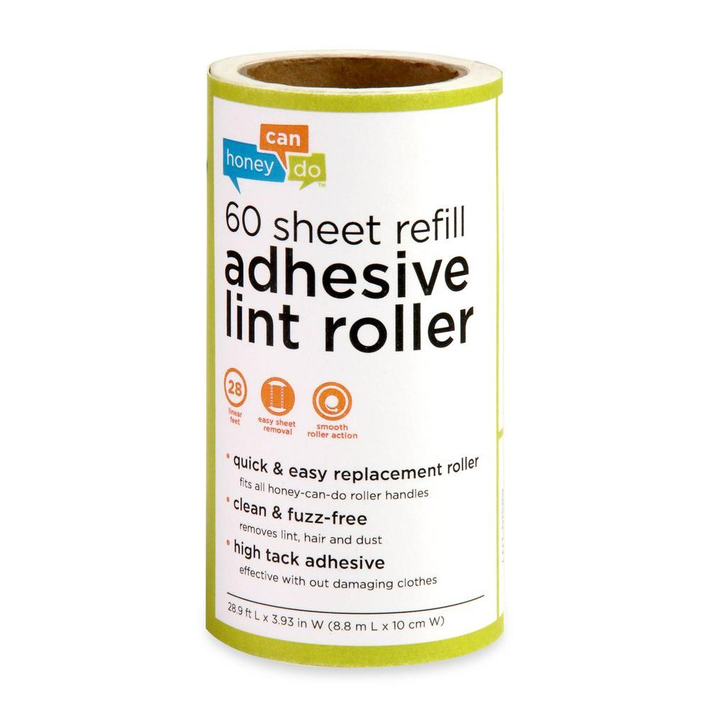 Honey-Can-Do 60-Sheet Lint Roller Refill (6-Pack)