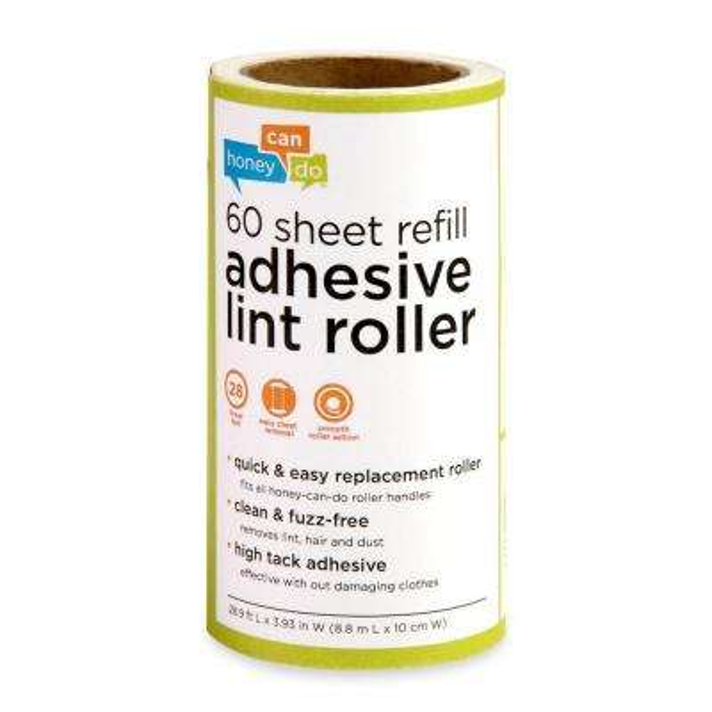 60-Sheet Lint Roller Refill (6-Pack)