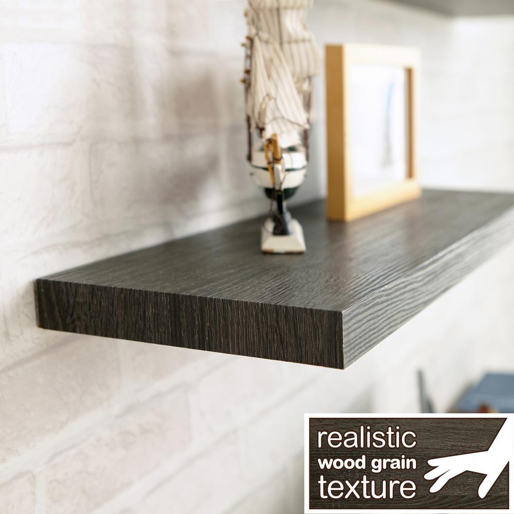 D zBoard Paperboard Textured Grain Wall Shelf & Way Basics - Shelving - Storage \u0026 Organization - The Home Depot