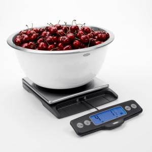 OXO Good Grips Stainless Steel 11 lb. Pull-Out Display Food Scale by OXO