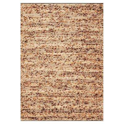 Casual Chic Brown 8 ft. x 10 ft. Area Rug