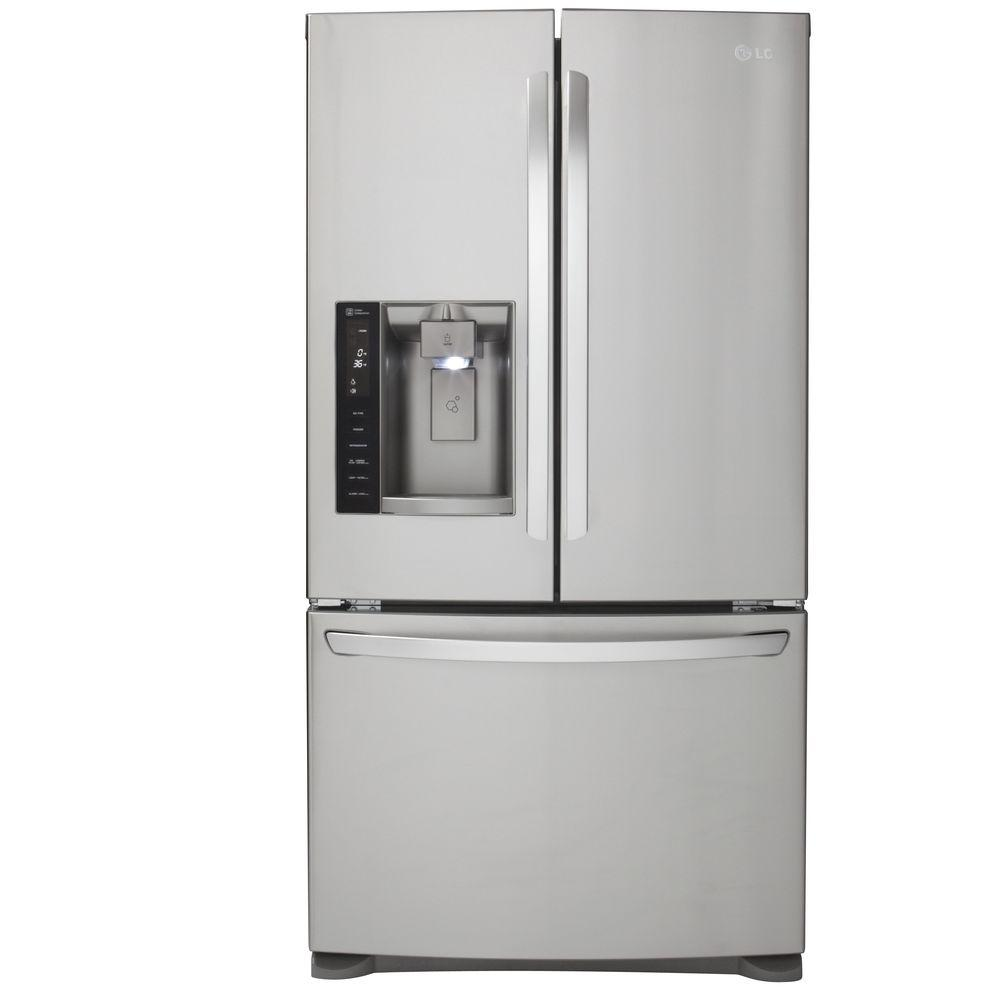 LG Electronics Cu Ft French Door Refrigerator In Stainless - Home depot protection plan