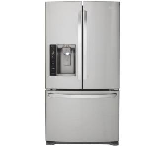 LG Electronics 26.8 cu. ft. French Door Refrigerator in Stainless Steel
