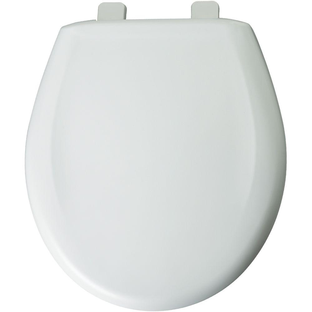 Church Round Closed Front Toilet Seat In White 300tca 000