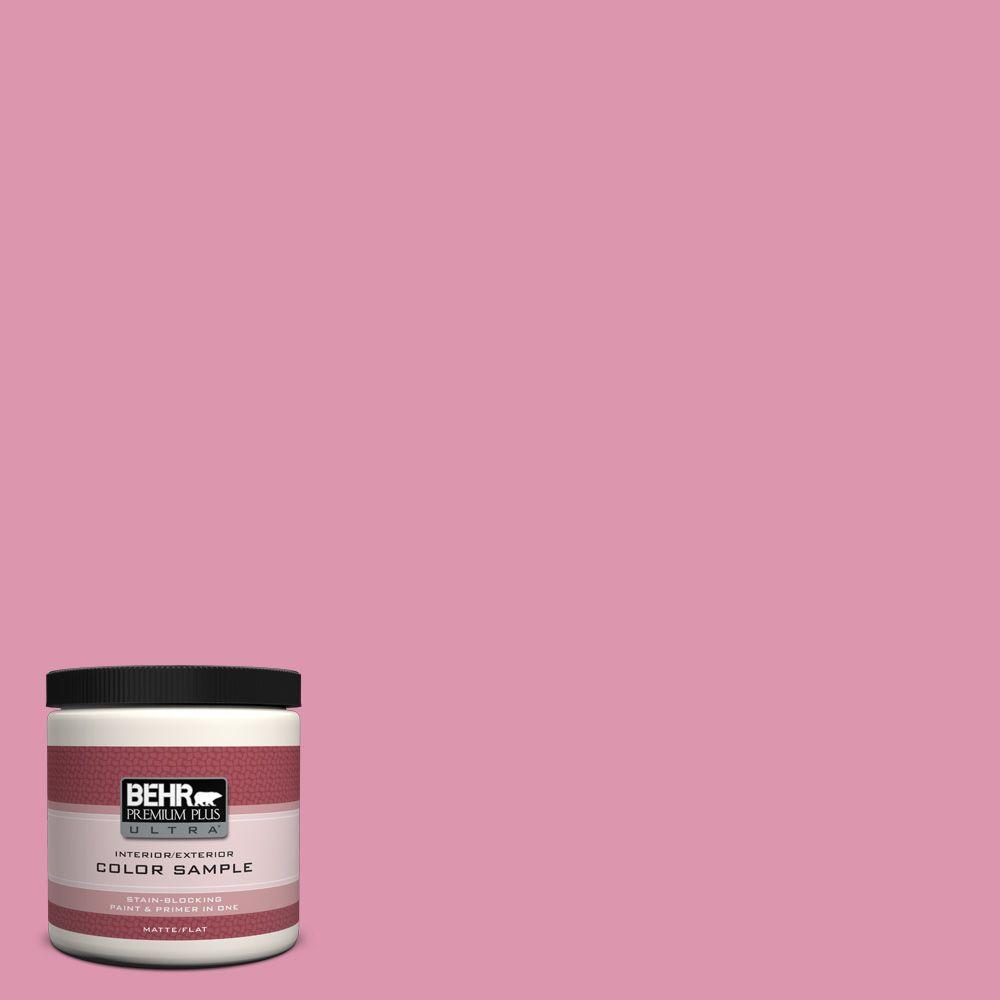8 oz. #110B-4 Foxy Pink Interior/Exterior Paint Sample