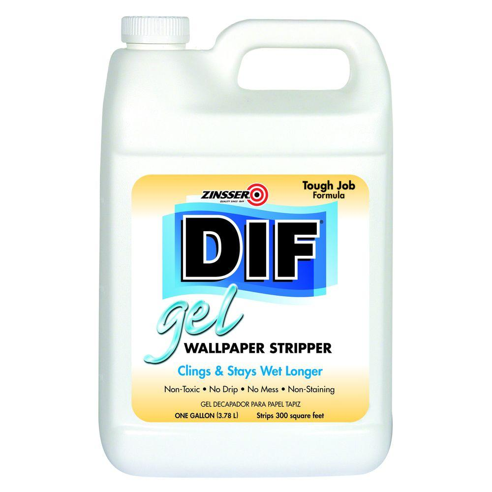 Zinsser 1 gal. DIF Gel Wallpaper Stripper (Case of 4)