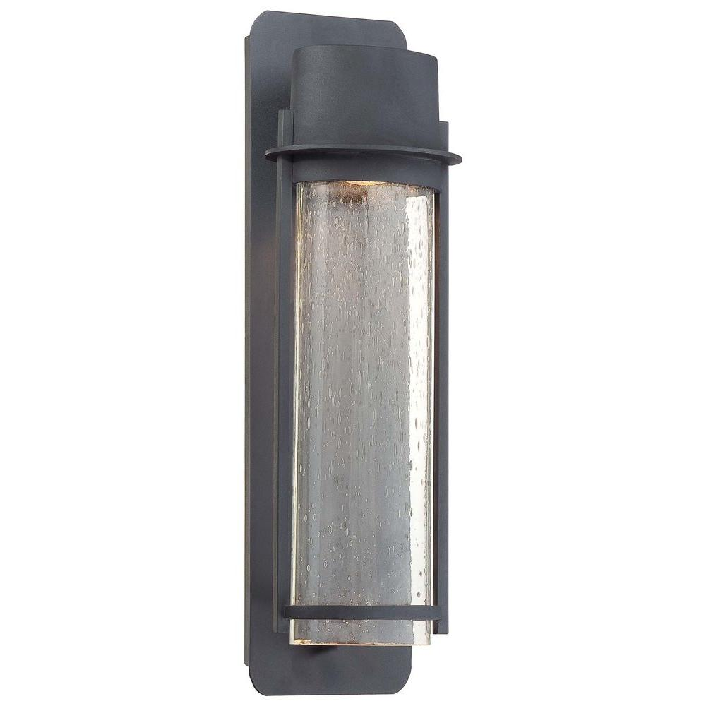 the great outdoors by Minka Lavery Artisan Lane 1-Light Black Outdoor Wall Mount Lantern