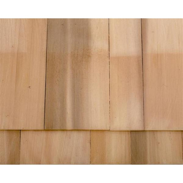 Unbranded 16 In Eastern White Natural Wood Cedar Kiln Dried Grade A Extra R R Architectural Shingles 25 Sq Ft Per Bundle 234232 The Home Depot
