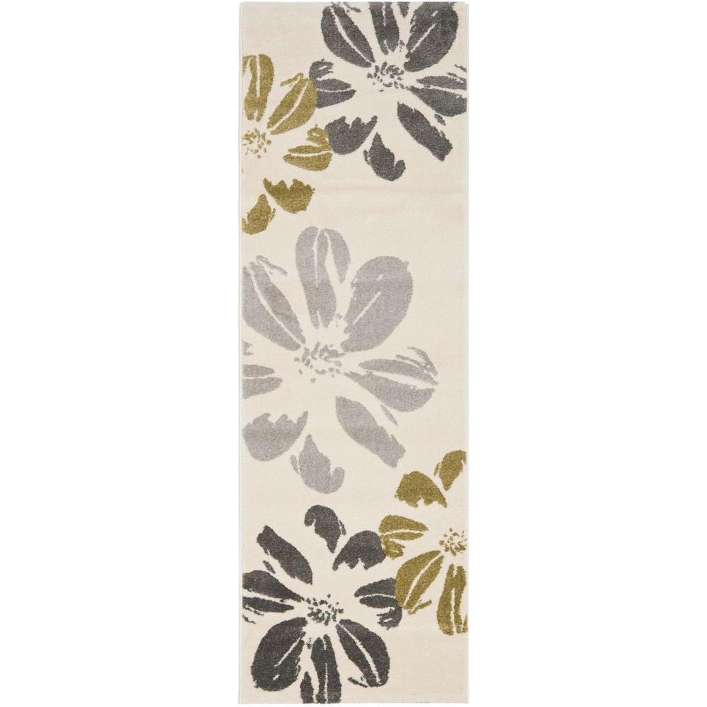 Porcello Ivory 2 ft. 4 in. x 6 ft. 7 in.